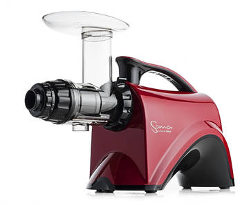 Sana by Omega EUJ-606 horizontal juicer red