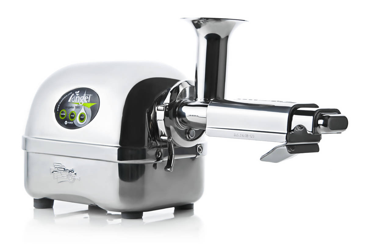 Angel 7500 twin-gear juicer