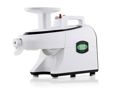 Green Star Elite Juicer white