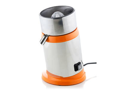 Remidag SP-M1 electric citrus juicer orange side