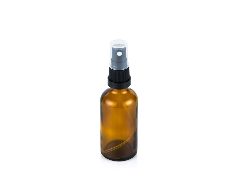 Glass bottle spray top 50ml