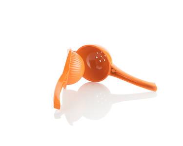 orange citrus squeezer open