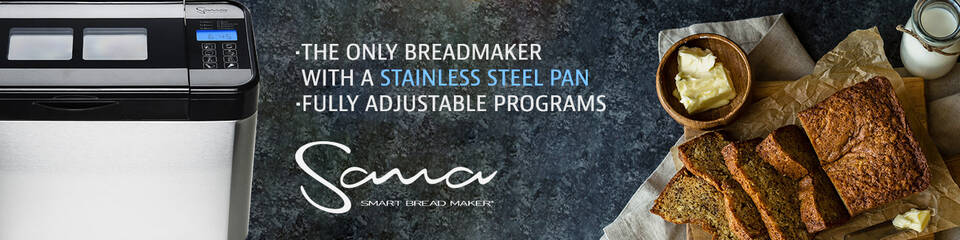 Sana Smart Bread Maker Banner